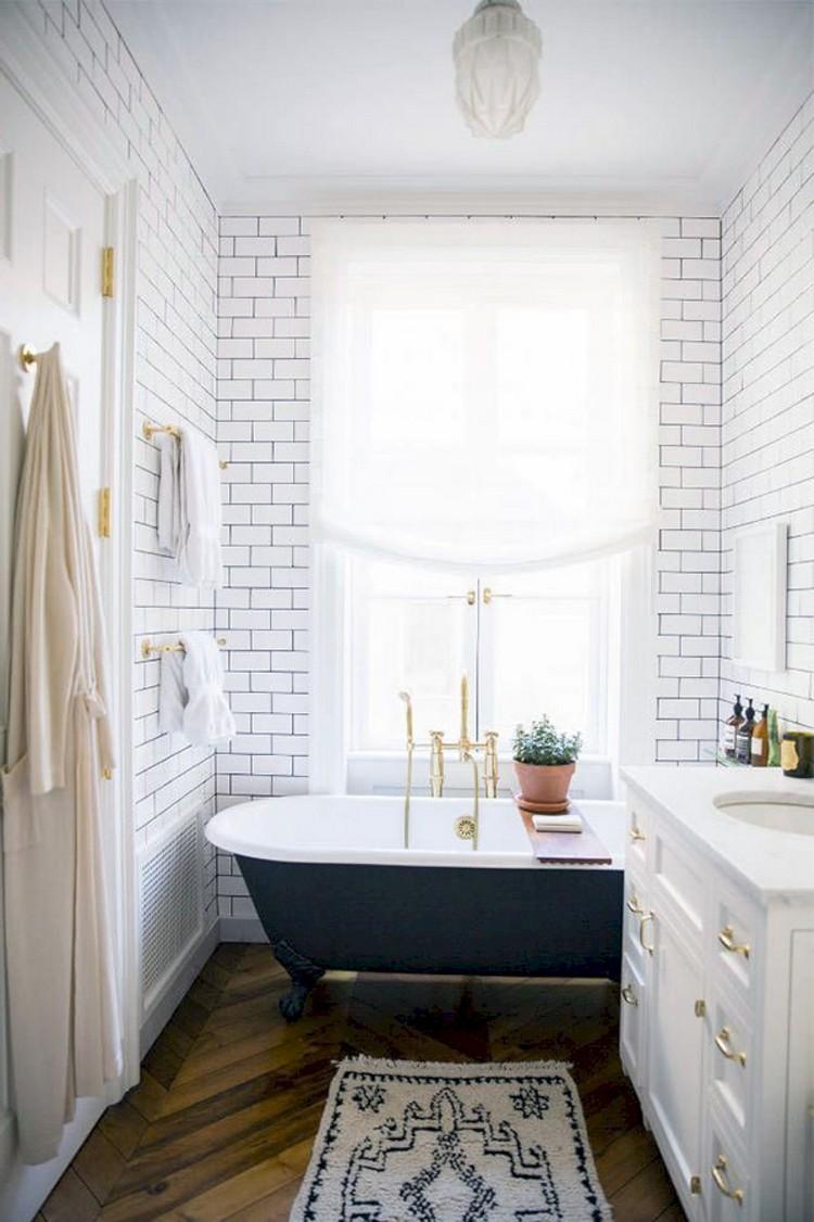60+ Scandinavian Bathroom Design and Decor Ideas