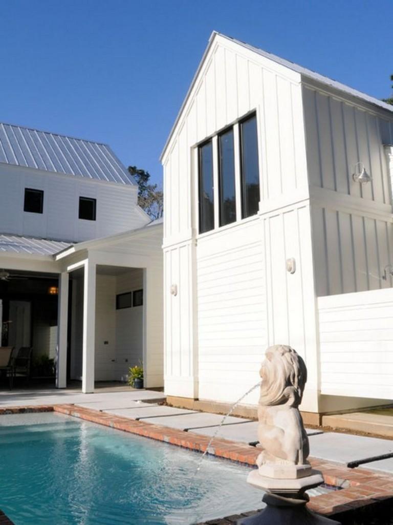 15 Best Modern Farmhouse Pool Fountains Ideas For You