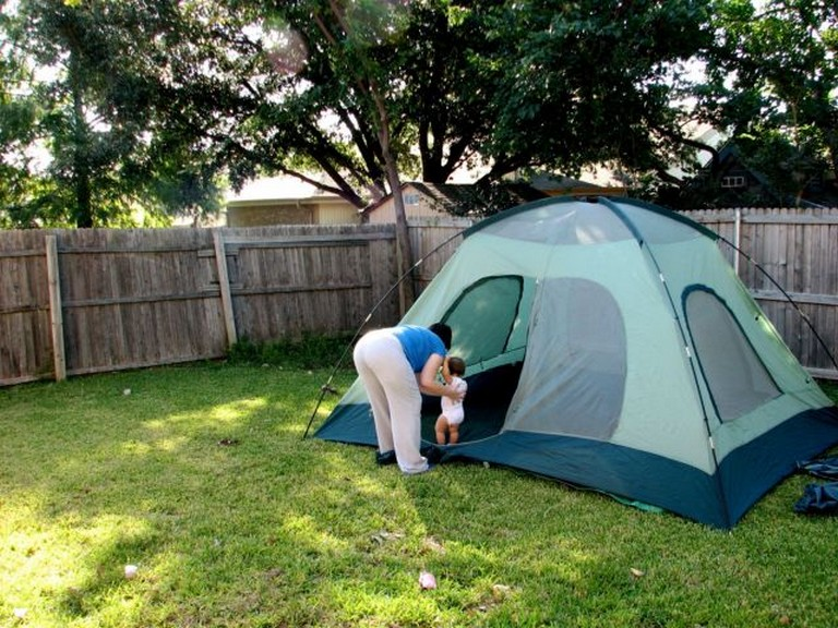 25 Beautiful Backyard Camping Tent Ideas for Your Kids