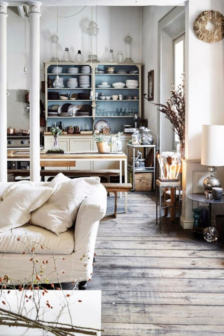 35 Attractive Living Room Design Ideas: 35 Beautiful Scandinavian Aesthetic Vintage Living Room Design