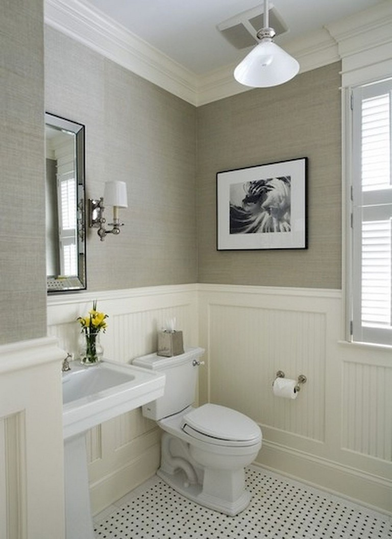 55 Beautiful Small Bathroom Ideas Remodel - Page 31 of 60