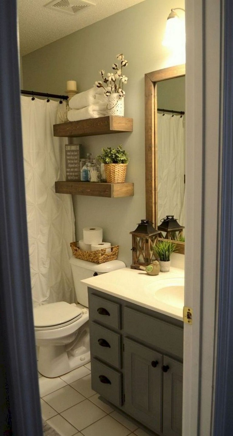 35+ Top Small Master Bathroom Decorating Ideas - Page 16 of 37