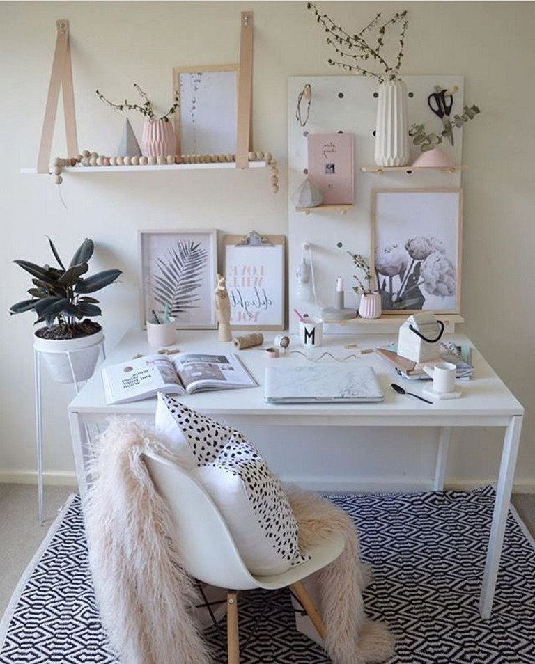 22 Scandinavian Home Office Designs Decorating Ideas: 55+ Awesome And Subtle Home Office Scandinavian Design