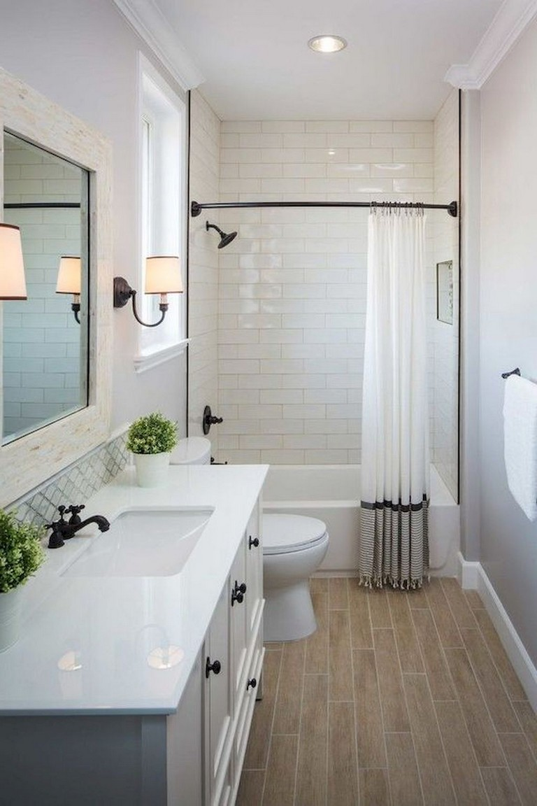 55 Beautiful Small Bathroom Ideas Remodel - Page 8 of 60 on Small Bathroom Renovations  id=77137